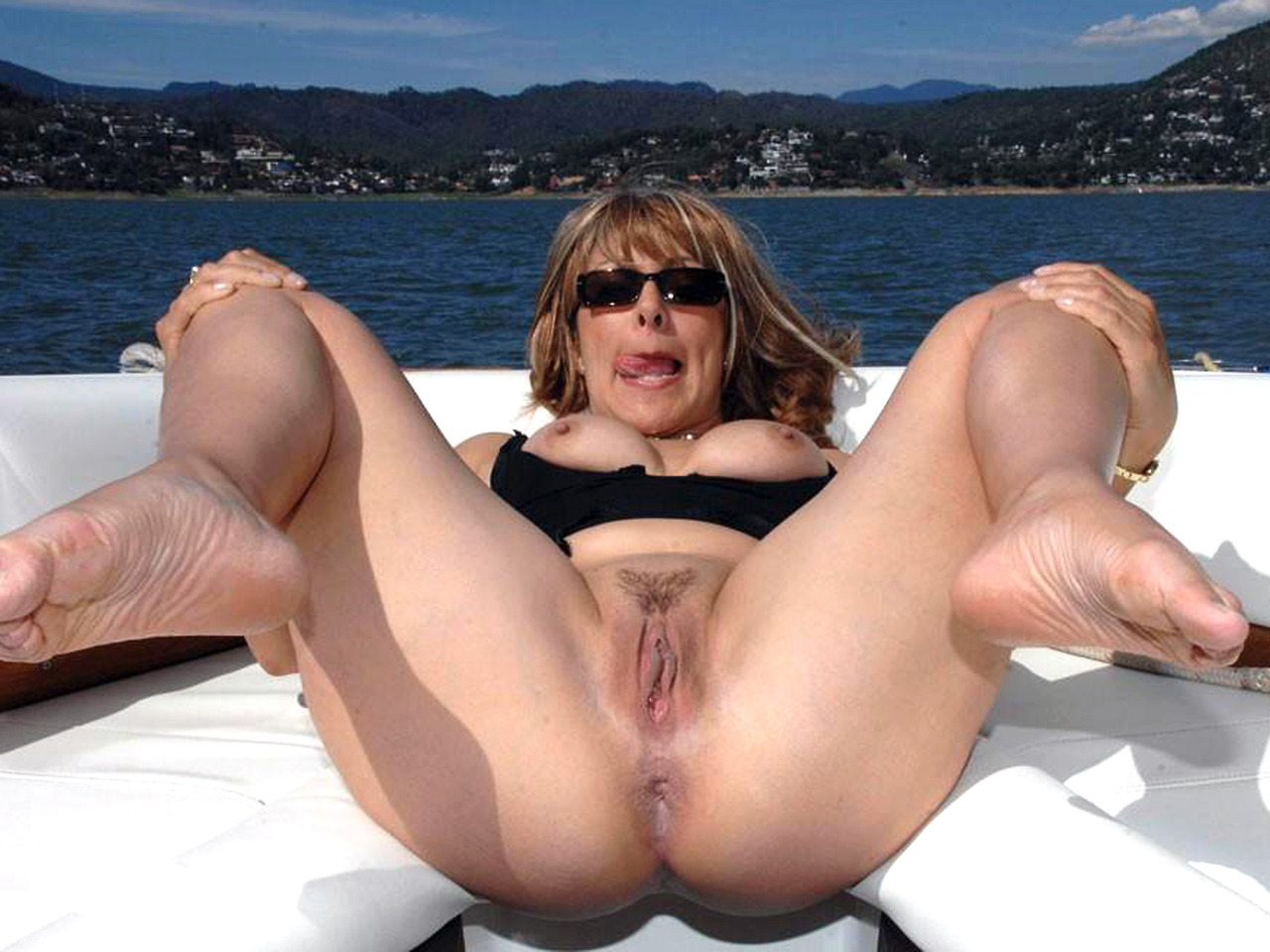 Opinion Mature moms on boat think