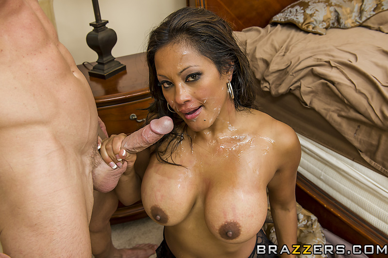 Interracial mom big tit