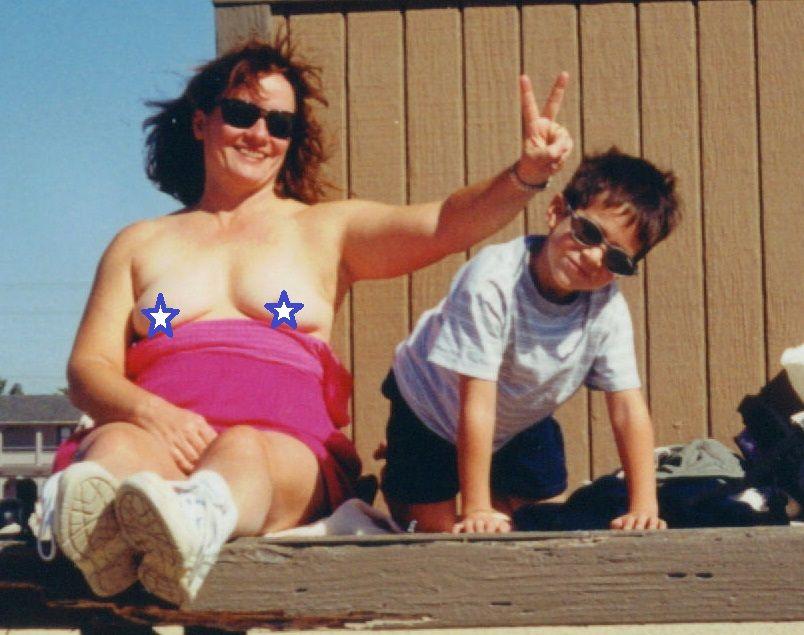 nude mom fail vintage