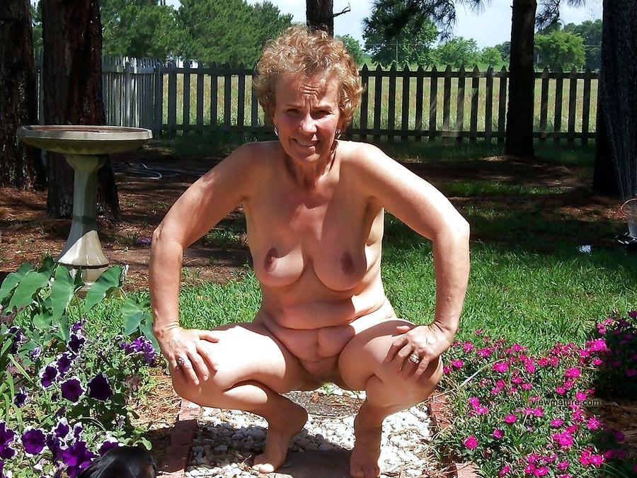 Were Stark naked mature women