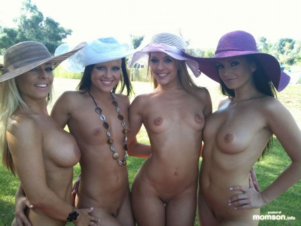 Nude kentucky derby party