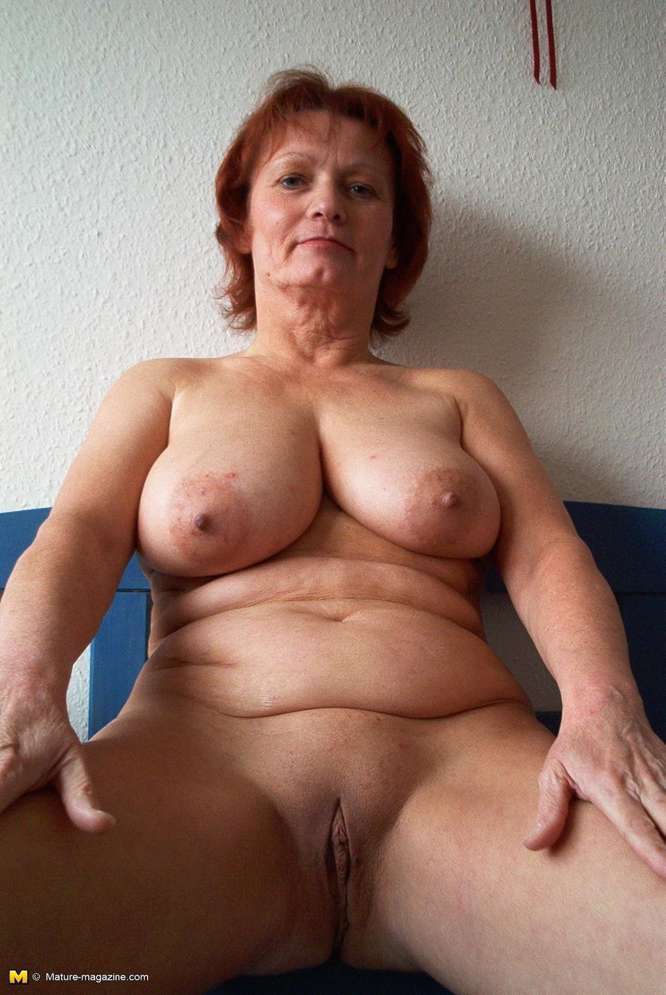 Older women naked Older Mom