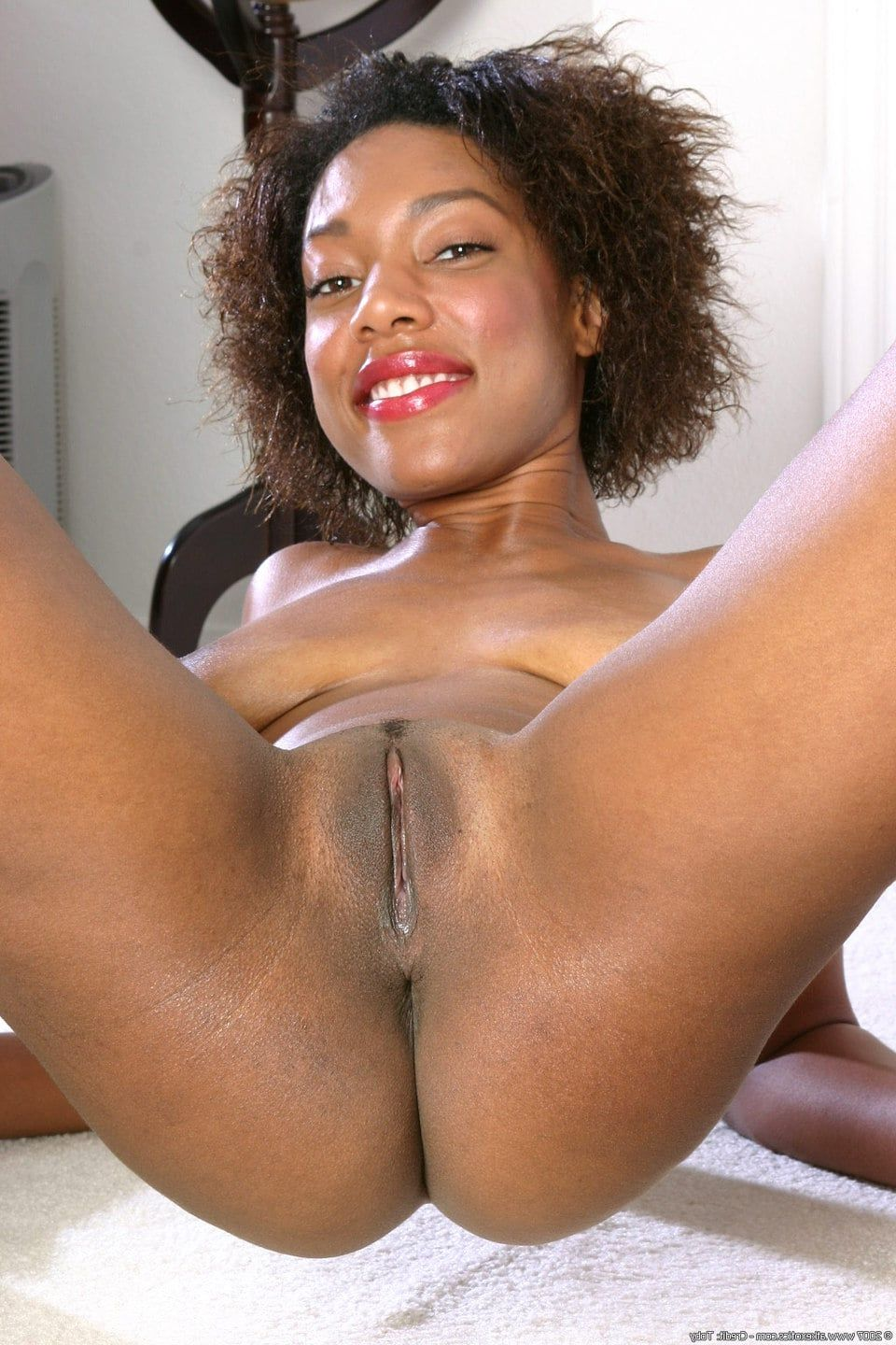 Ebony milf with ddd tits