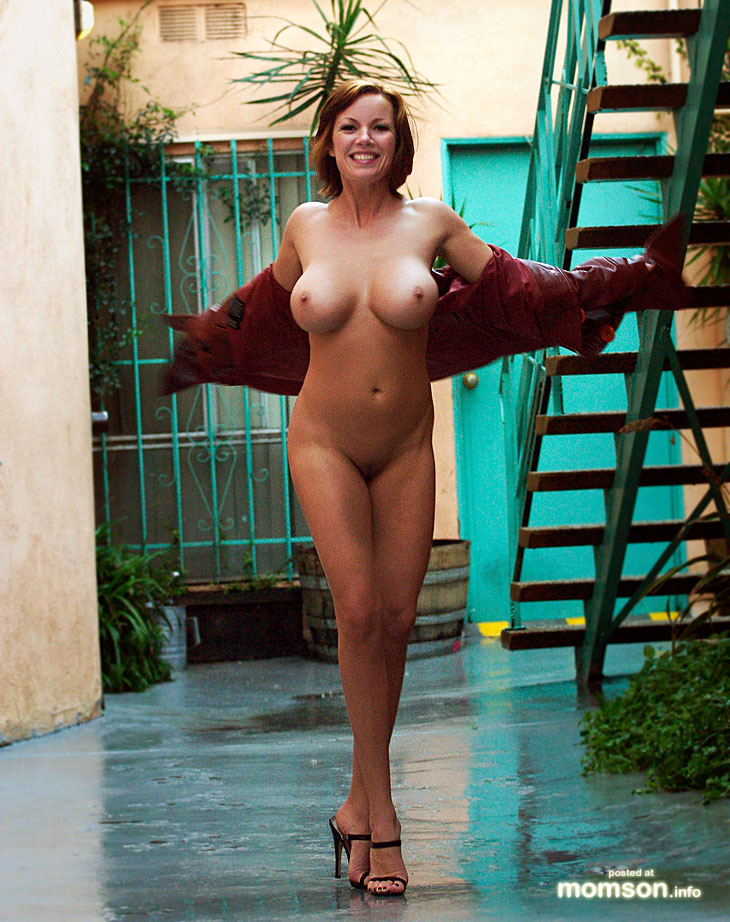 Not Real life nude milf think