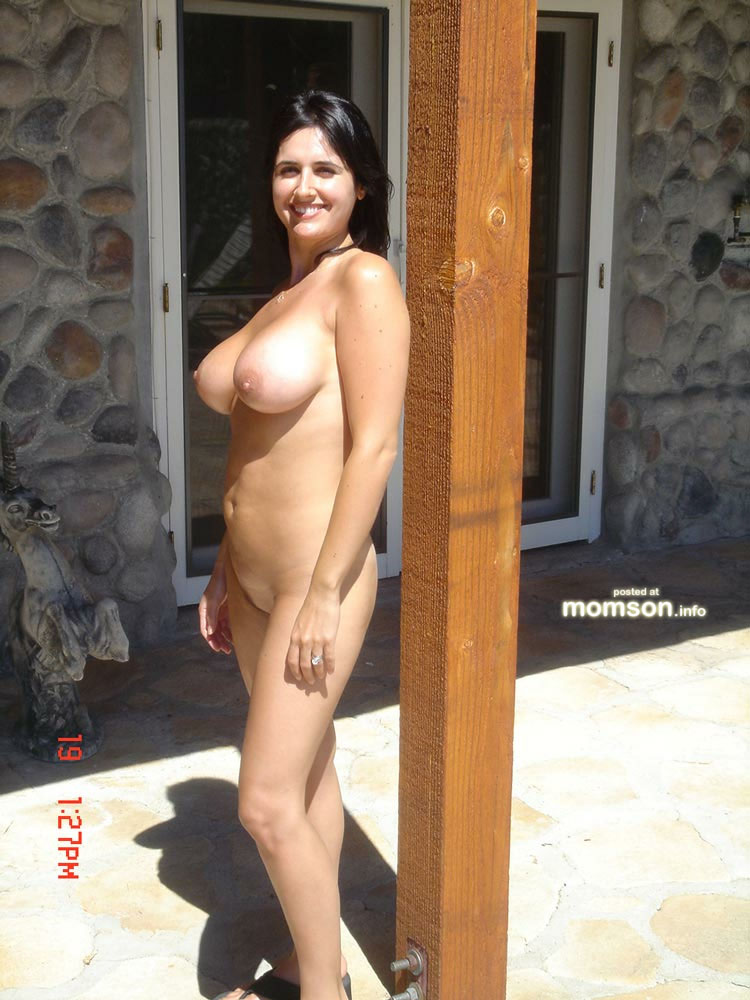 Naked with my mom