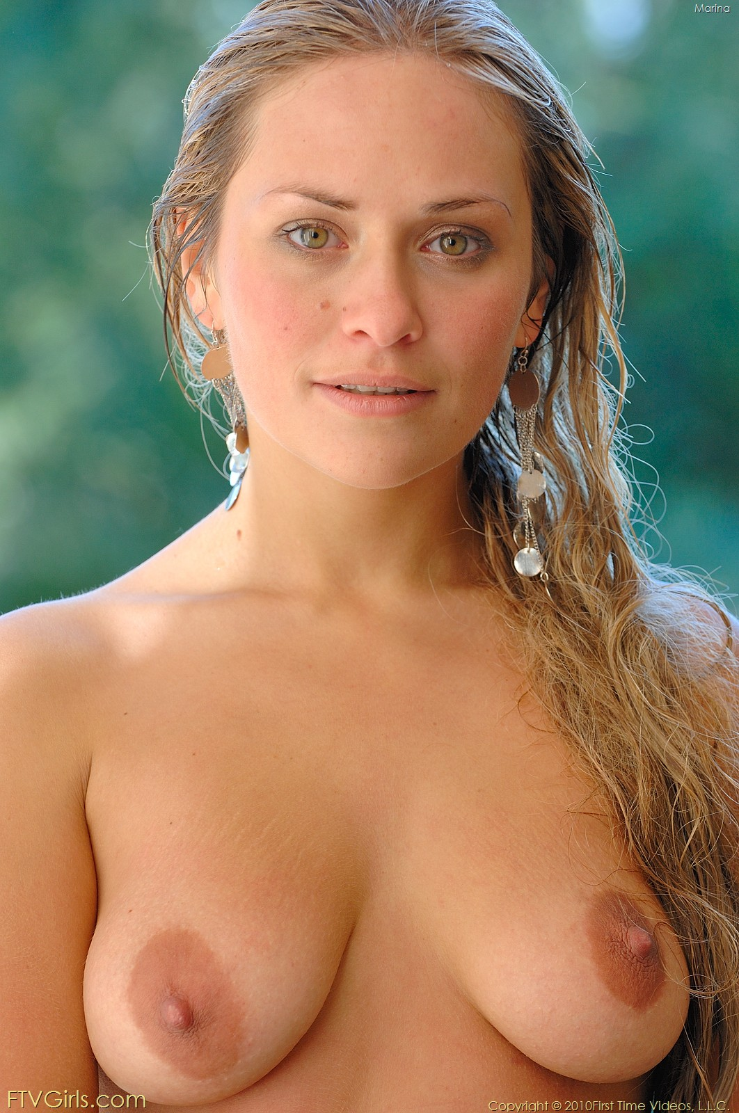 Natural female breast photo