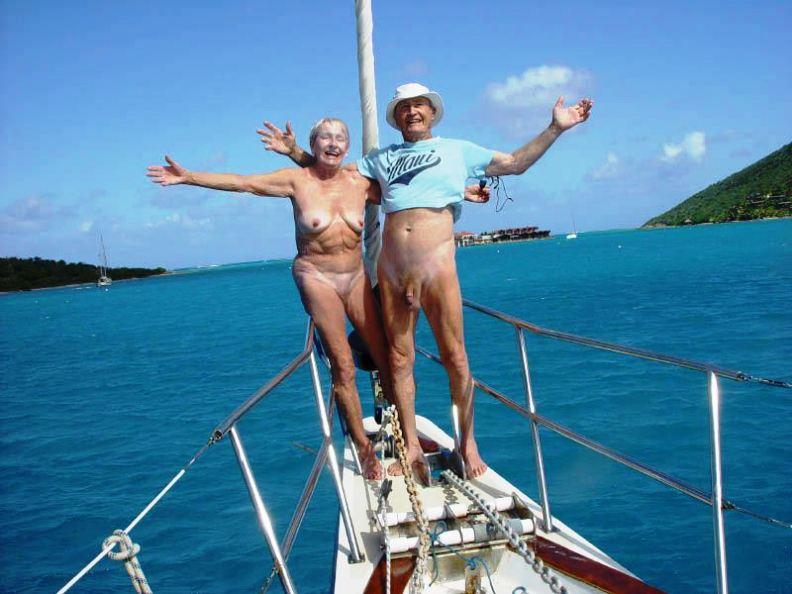 Mature Nudist Couple 89