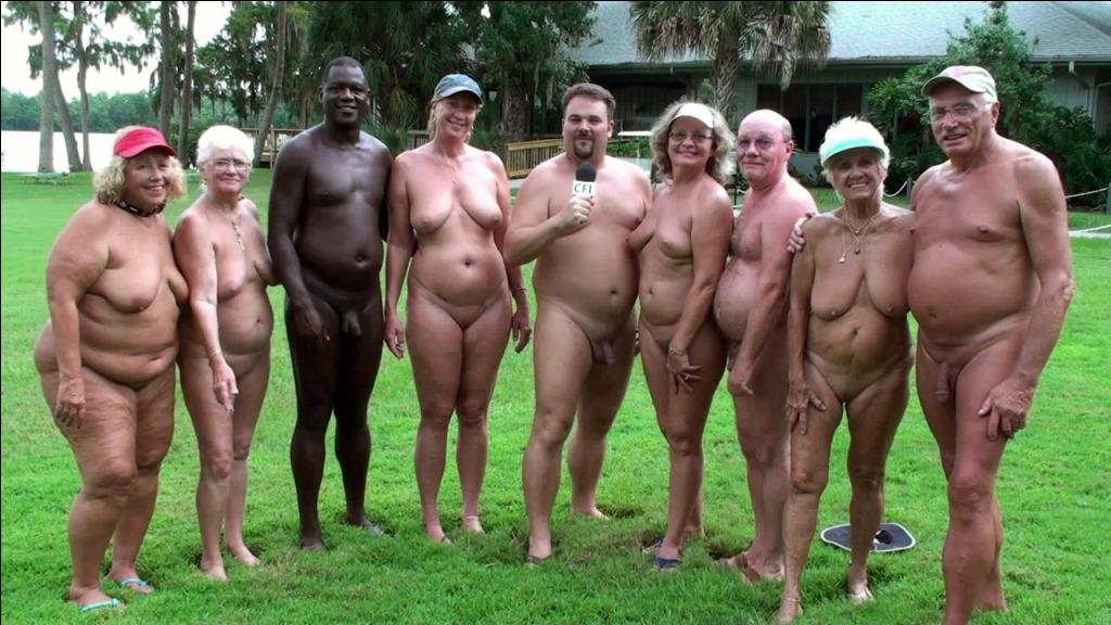 Nudist club group sex