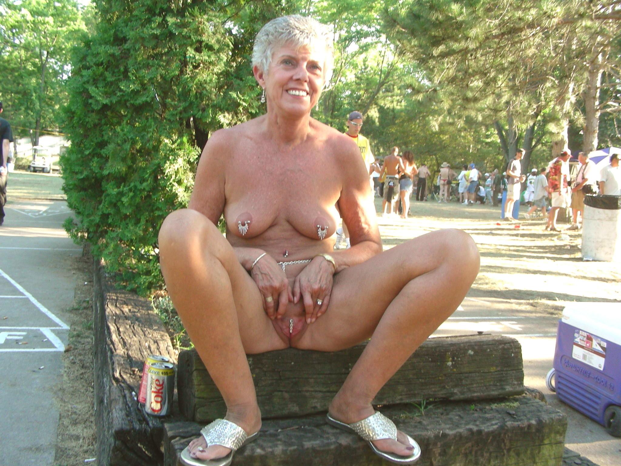 Mature nudist porn