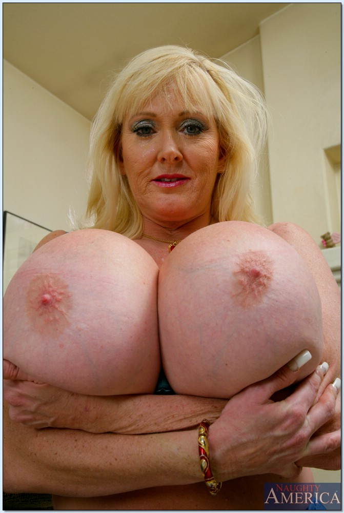 Old Ladies Big Boobs