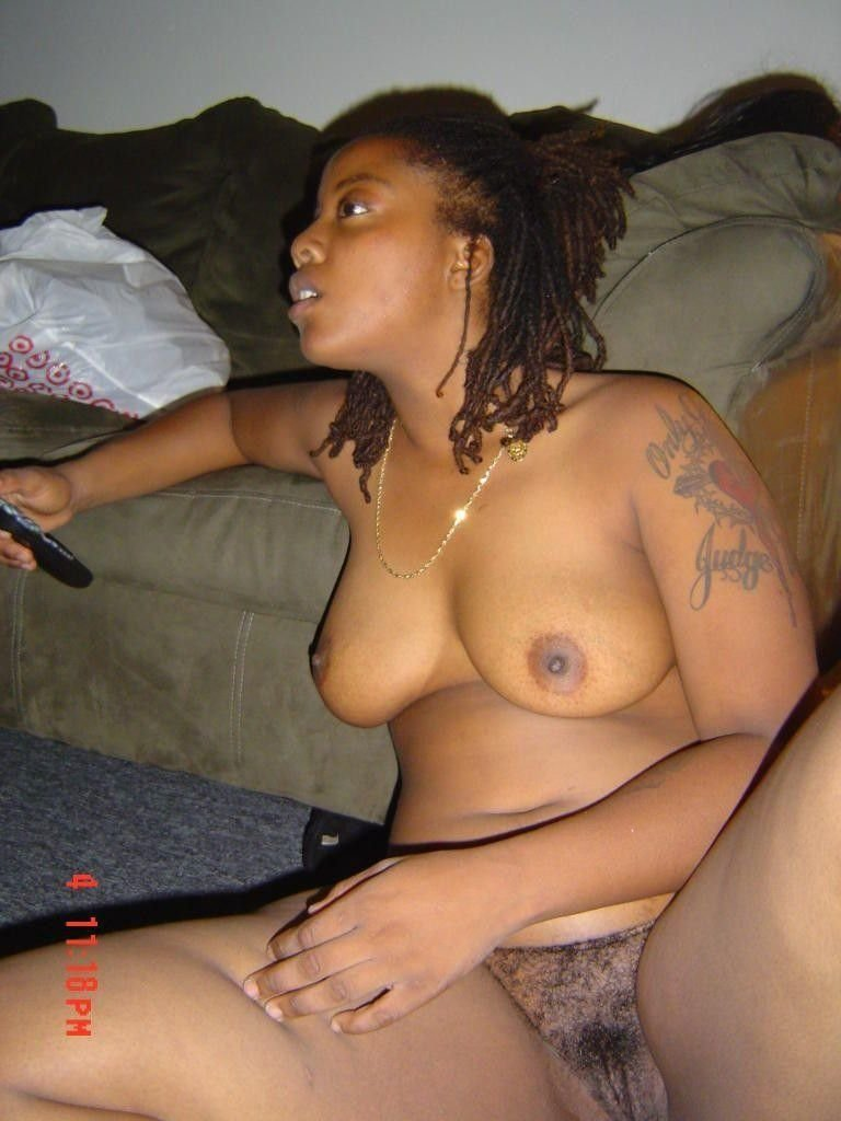 Slut naked black