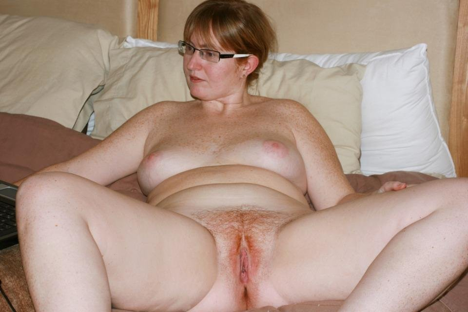 Girl naked old fat