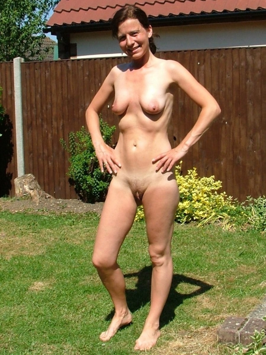 Really. My neighbor in the nude were visited
