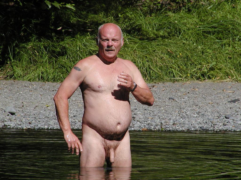 Senior older mature gay