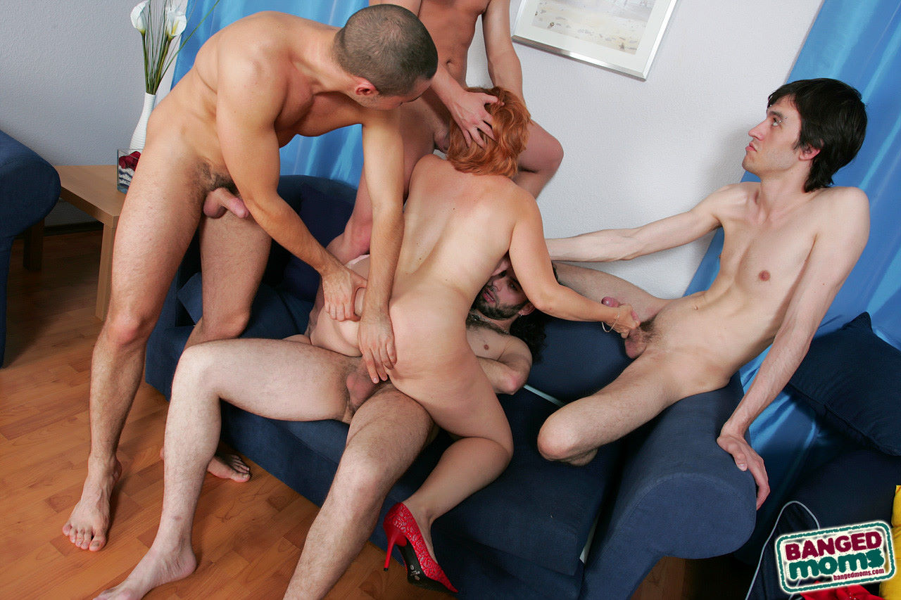 Смотреть gang bang mature 14 фотография