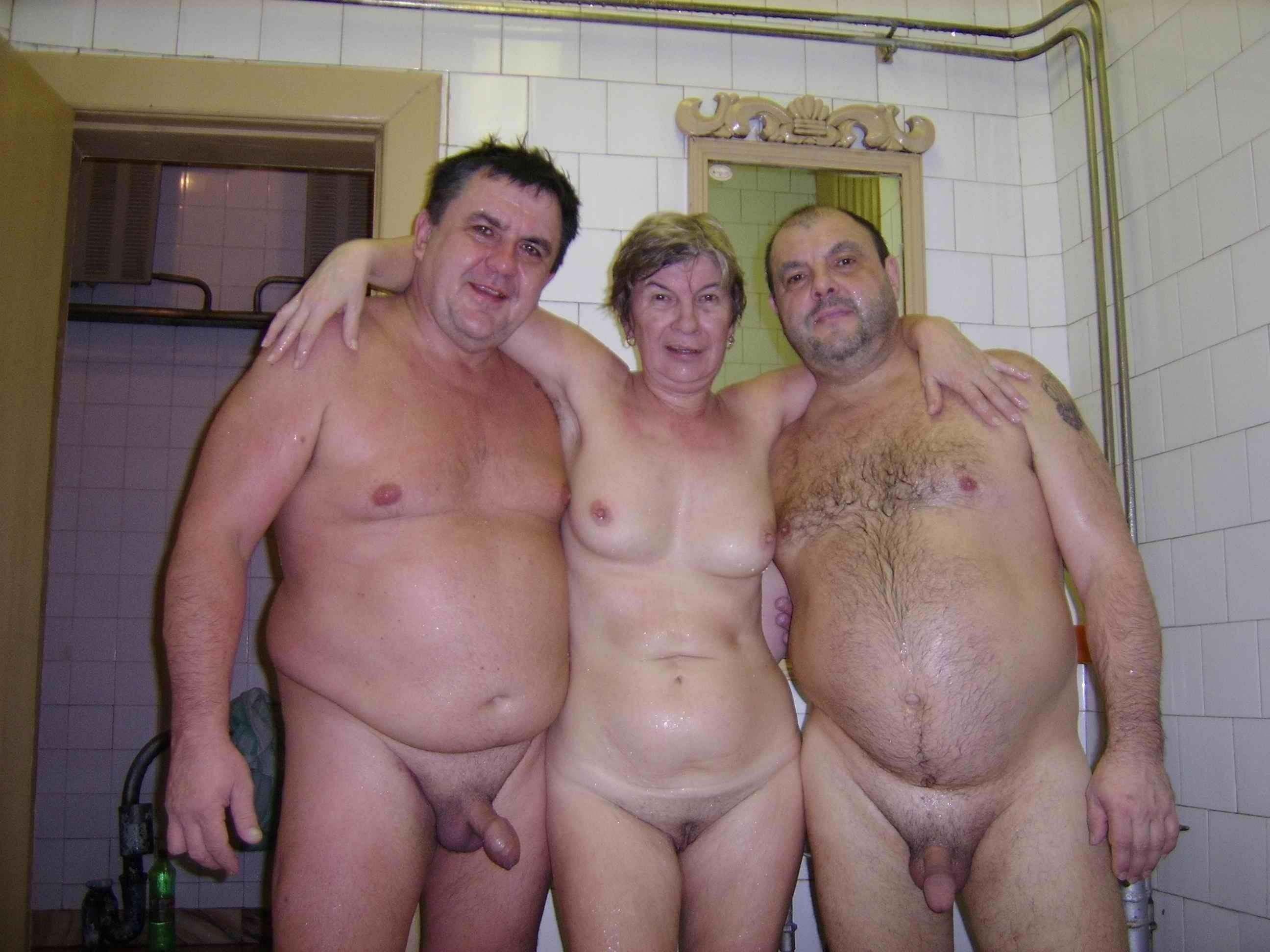 Grandma and grandpa swingers