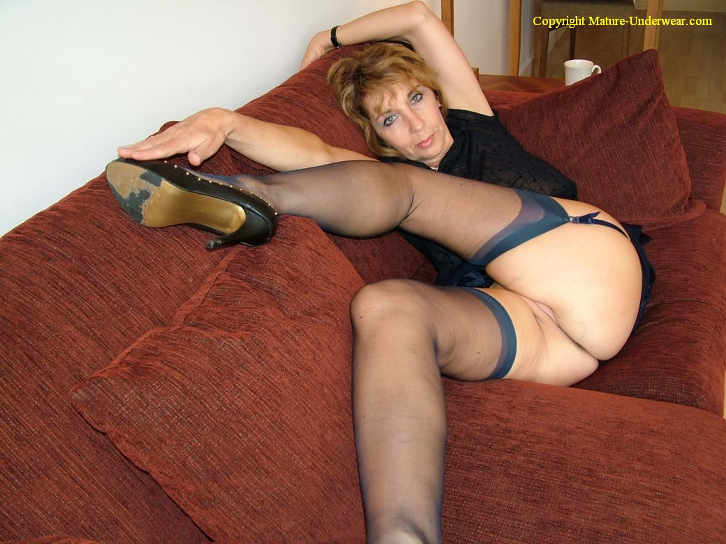 Mature german women in pantyhose your