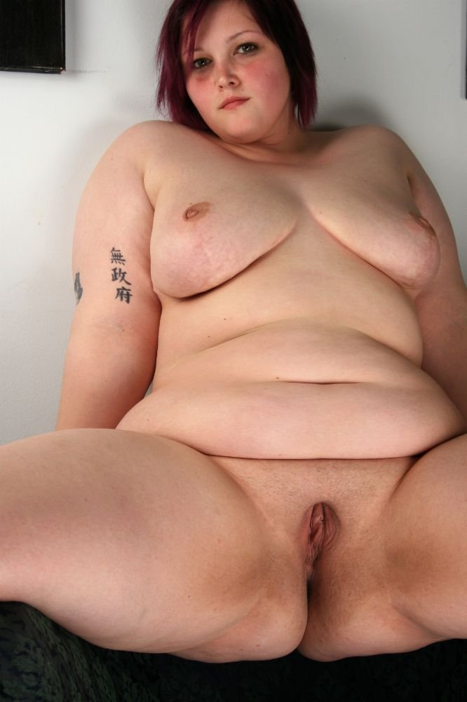 Large mature nude woman something