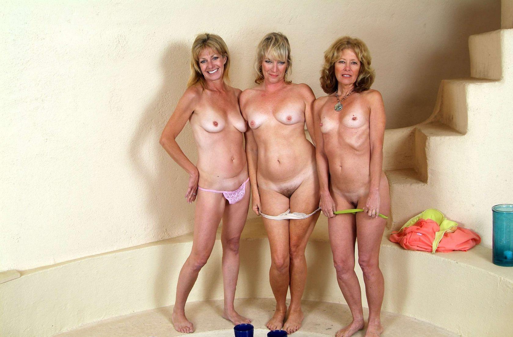 Mature Group Porn Pics