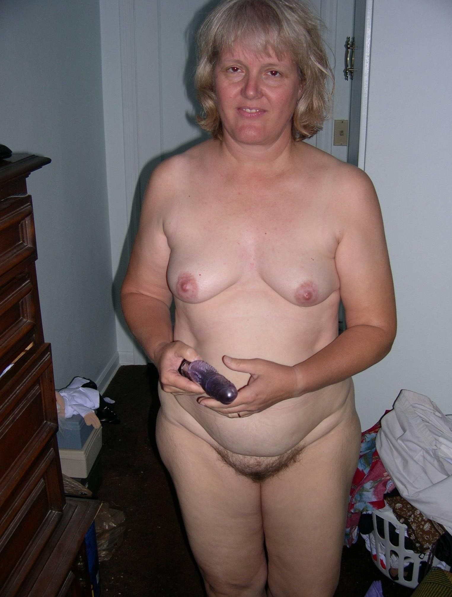Ugly old wife naked