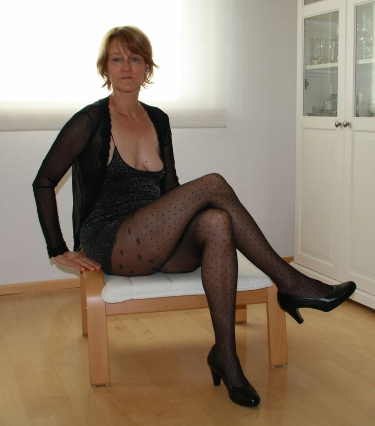 With old pantyhose after than marital