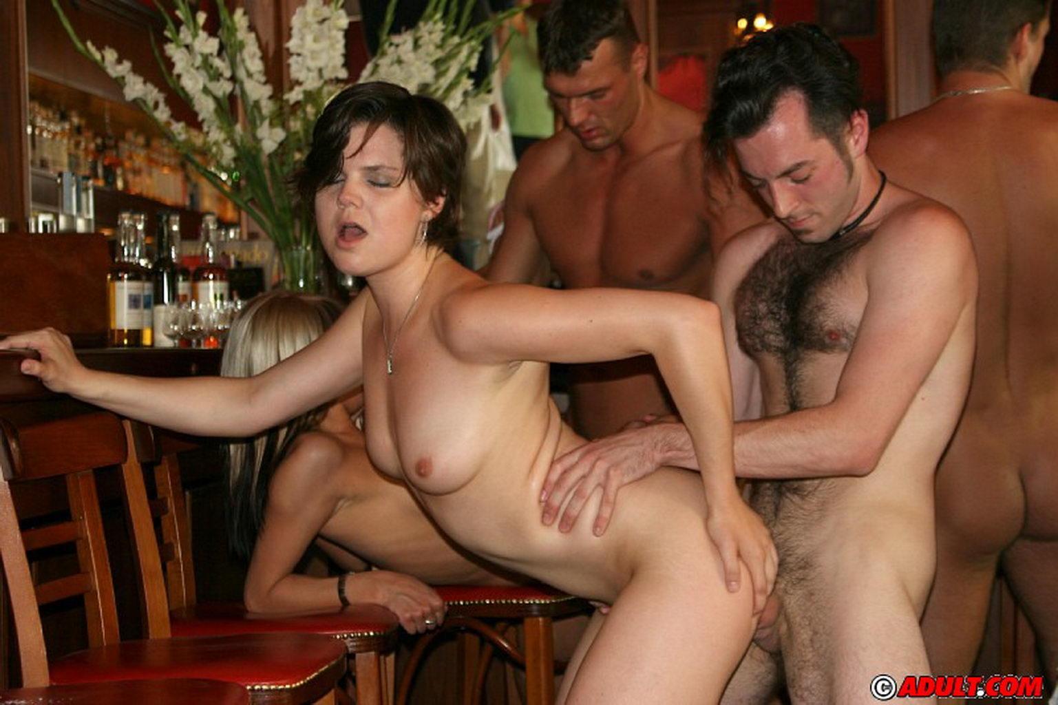 Порно вечеринки в америке