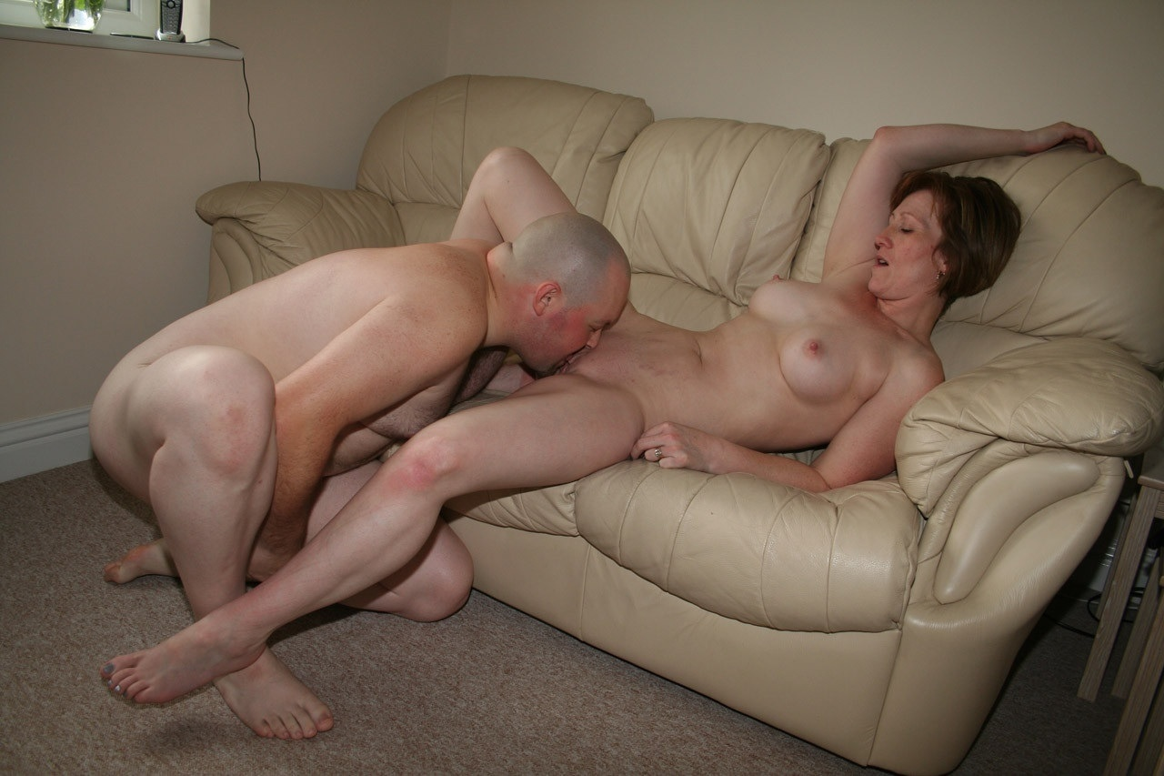image Grandma gets her hairy cunt fingered and fucked deep