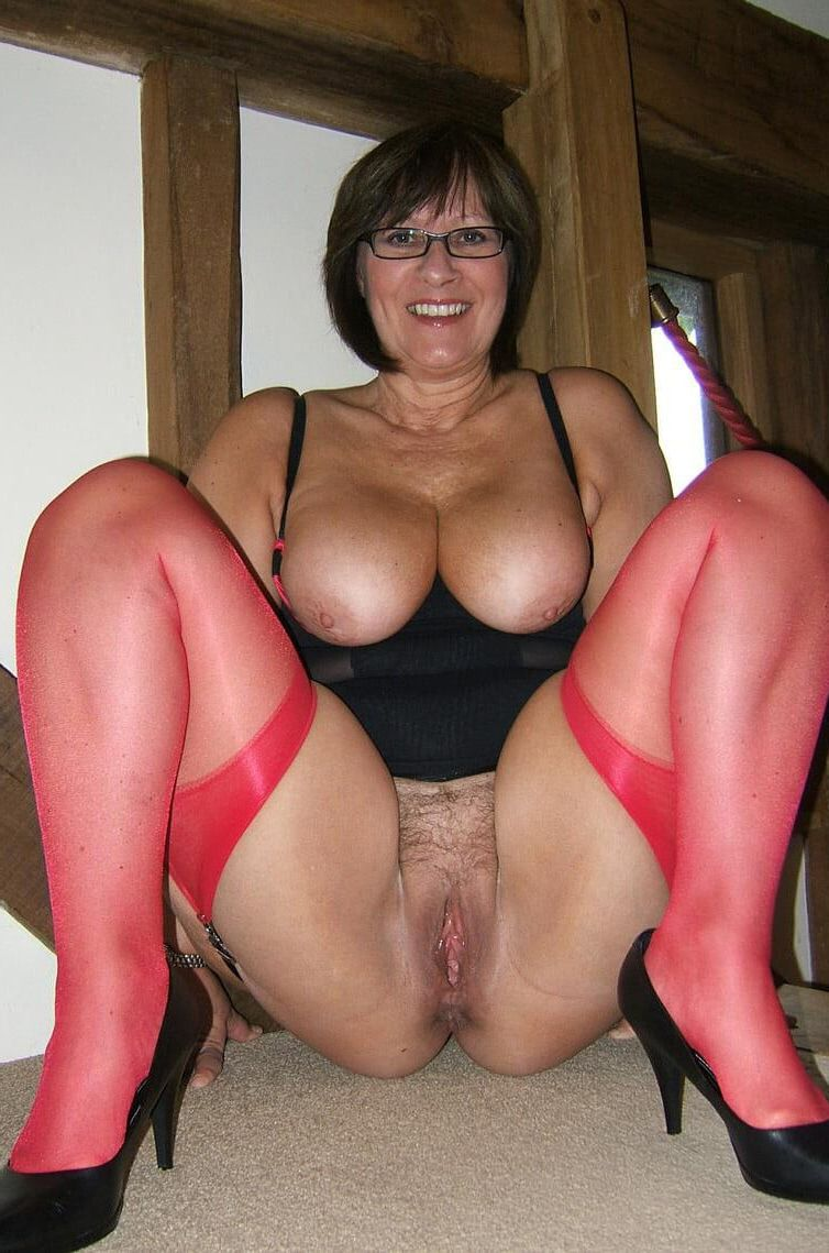 mature milf ass stockings Big