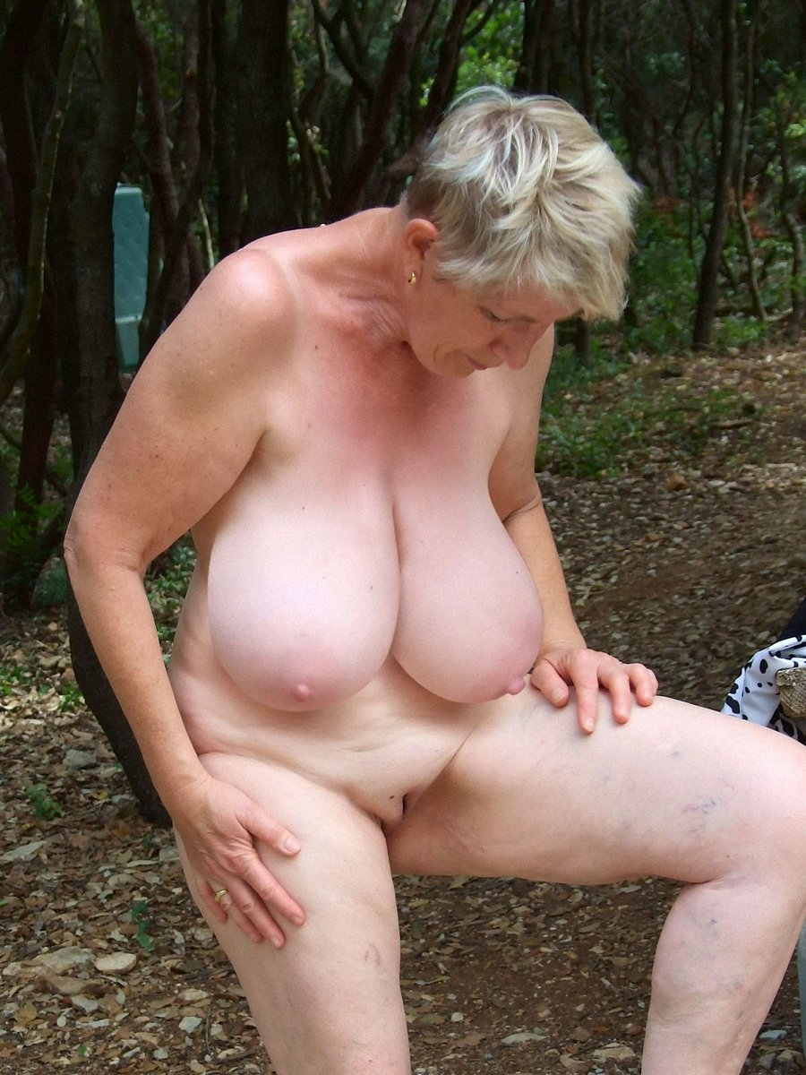 Opinion Old mature granny outdoors mistake