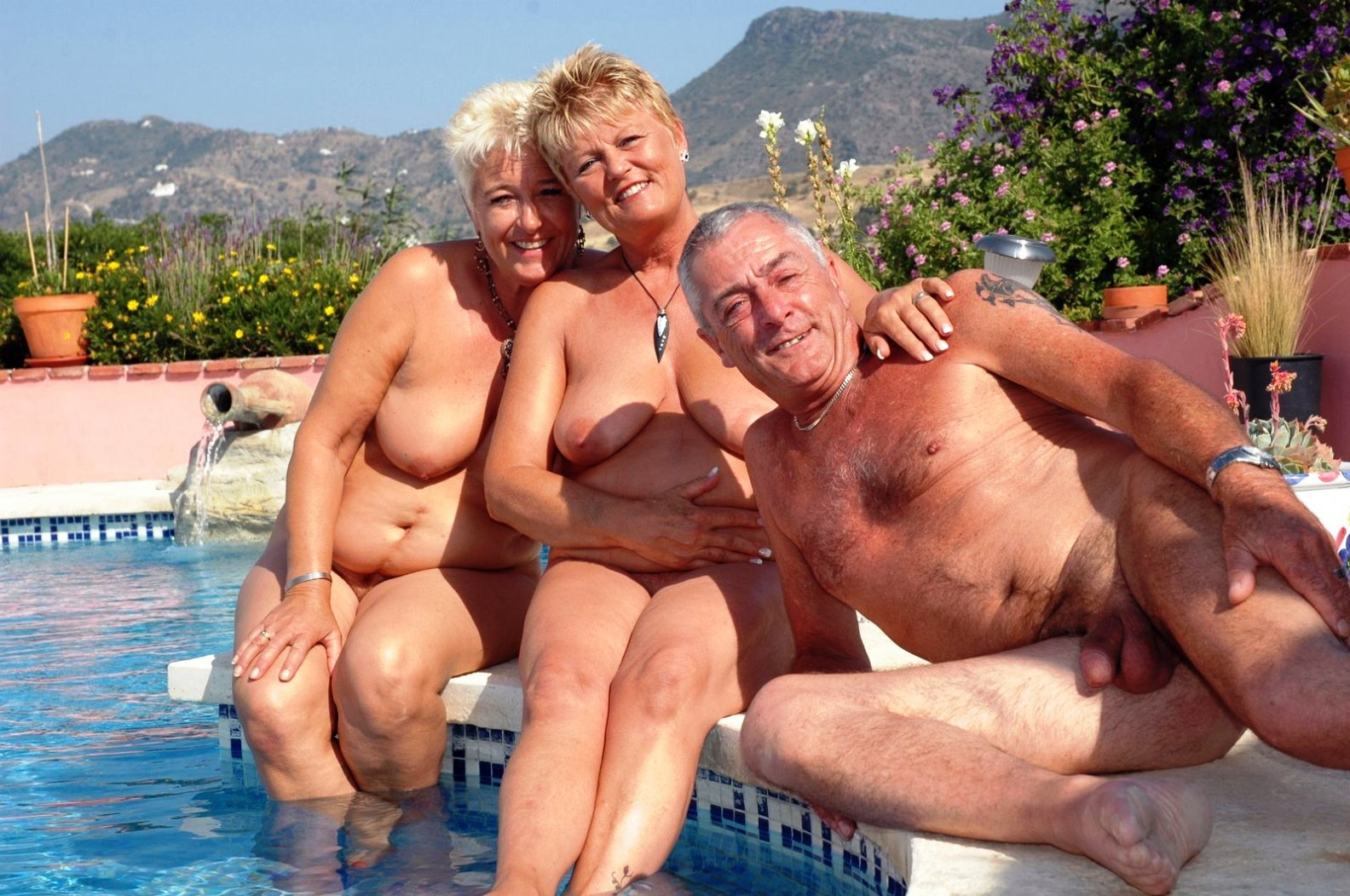 Women colonies old nudist