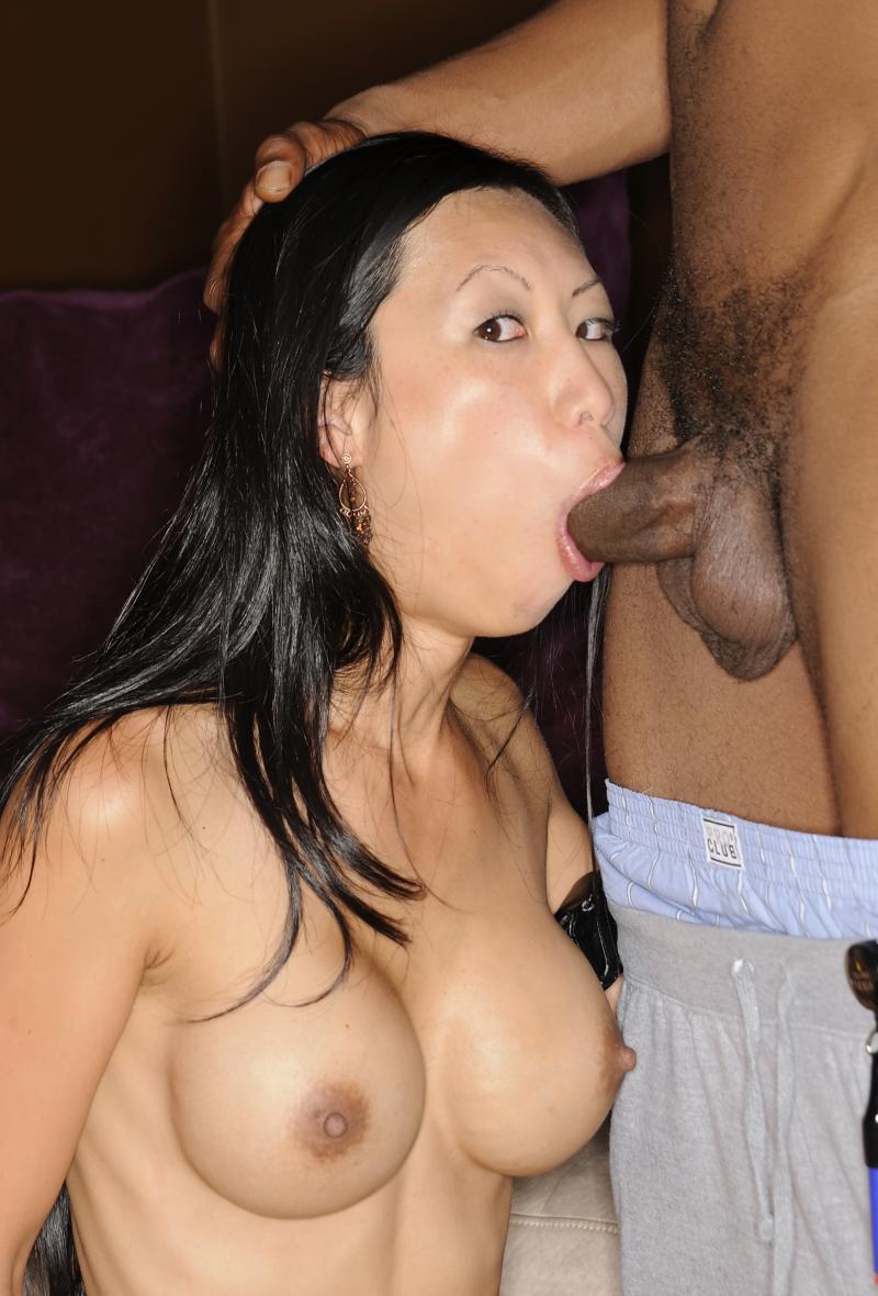 Asian Tinder Date Blowjob