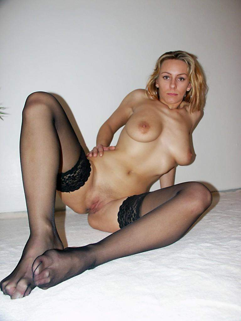 Mature woman having sex