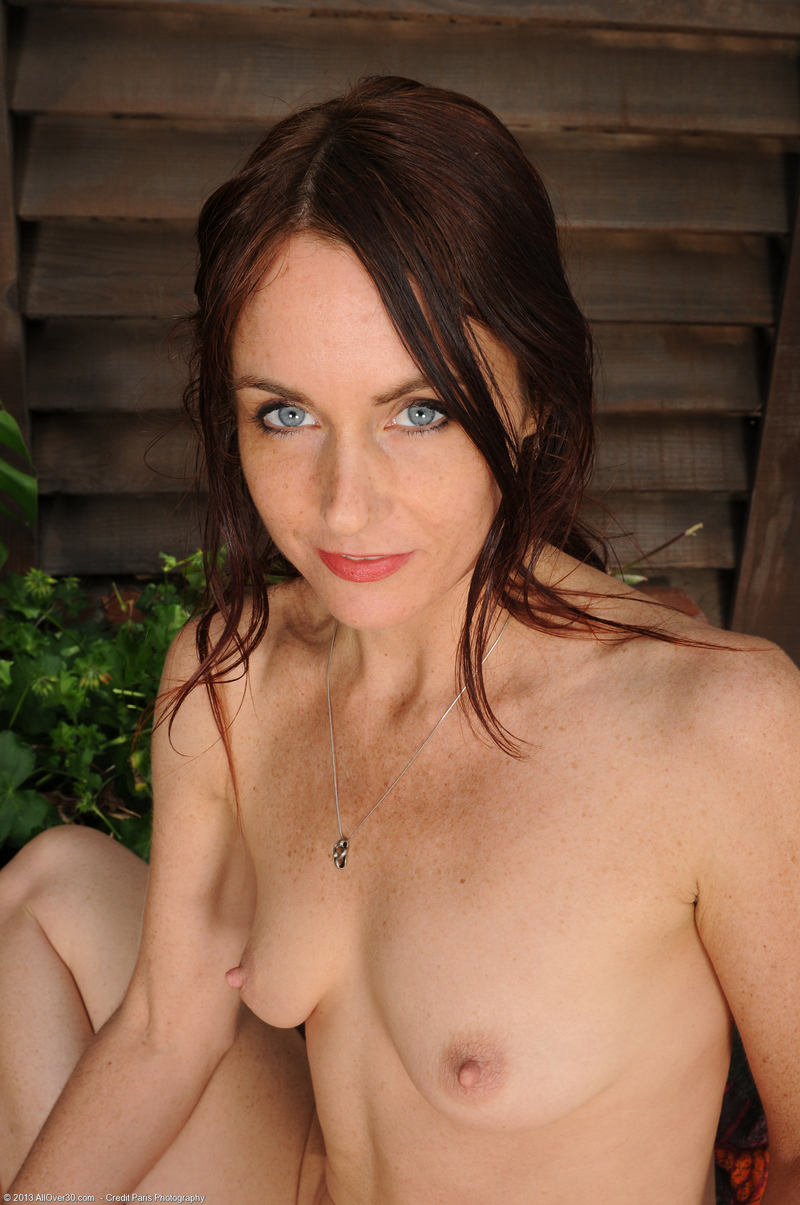 Are Naked blue eyed babe with you