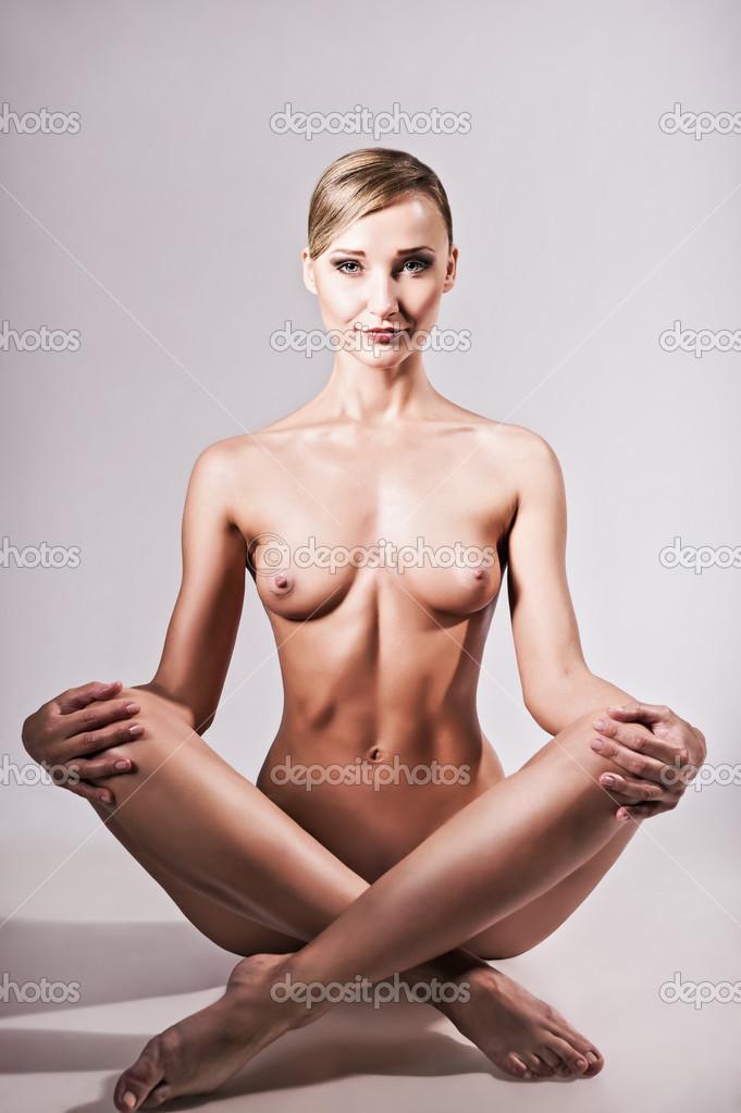 hot topless yoga women
