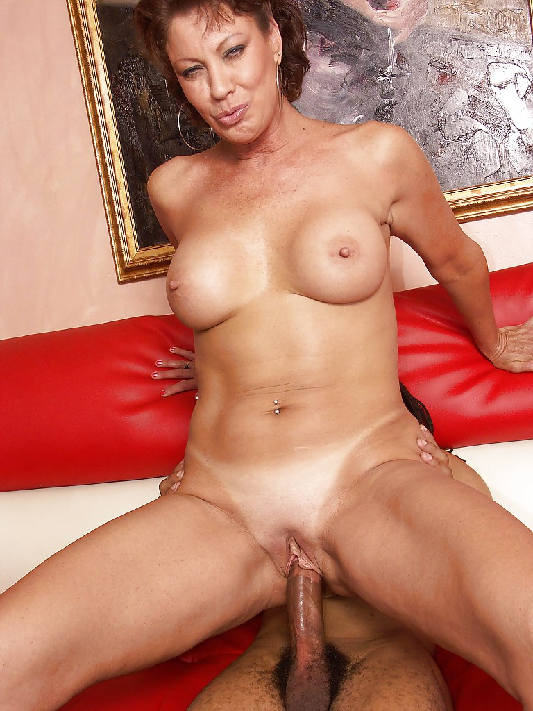 Mature shaved women