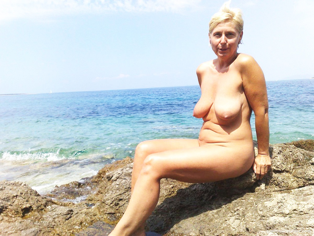 Nude women beach the mature at