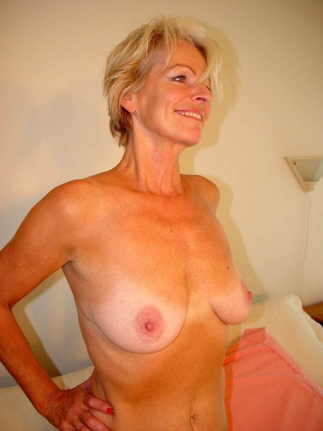 Share your blonde mature nude women