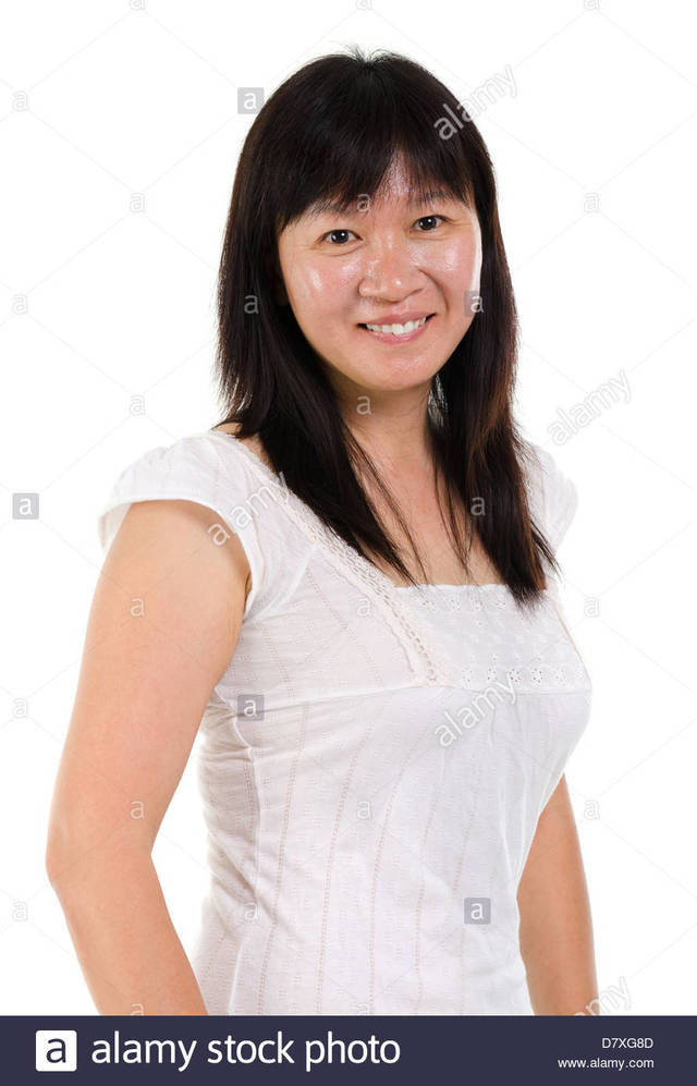 asian mature pics mature woman photo asian beautiful happy middle portrait stock smiling comp