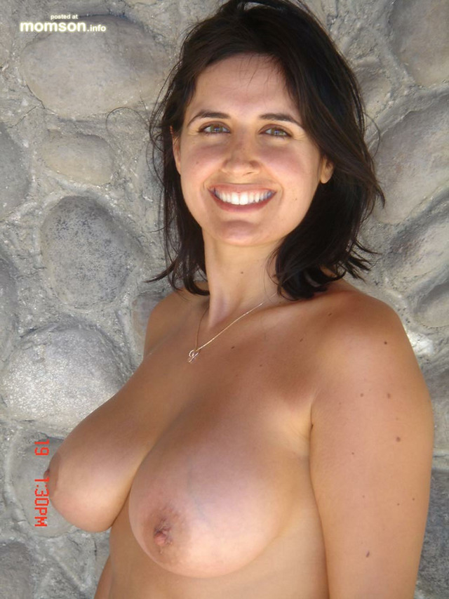big naked moms nude mom mother great beautiful breasted smiling