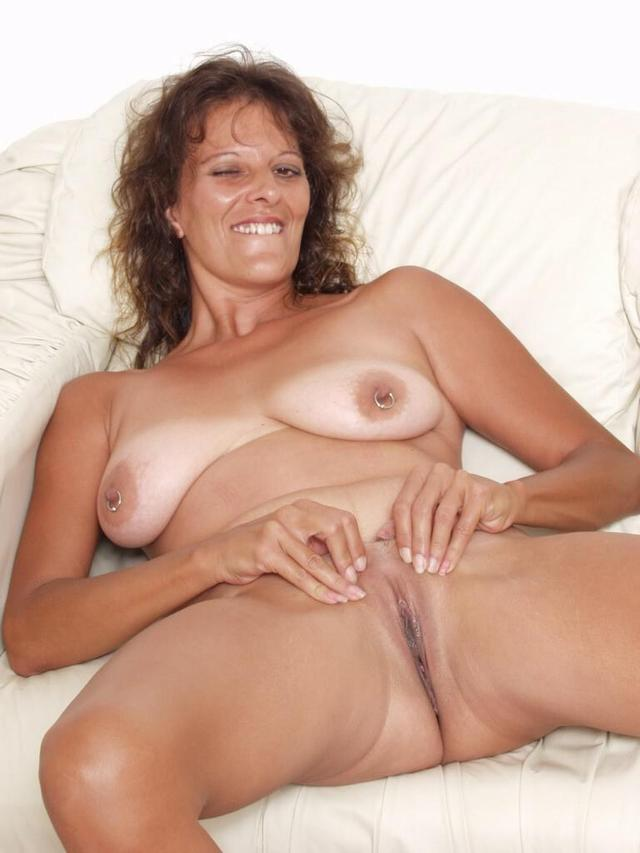 German milf with big tits
