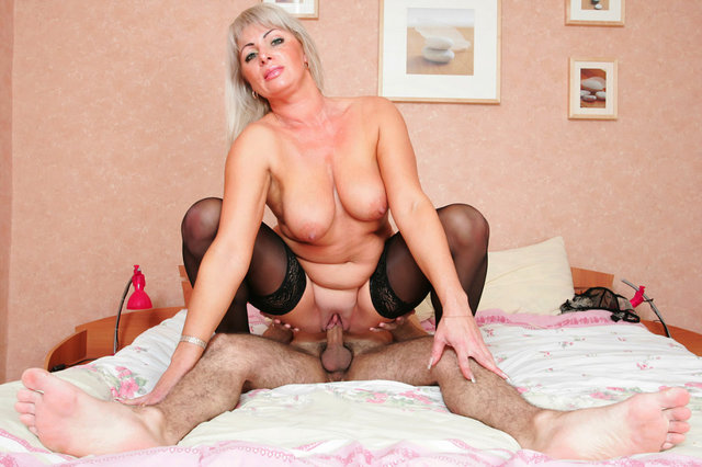 blonde moms porn pics mom blonde black stockings gets fucked moms holes