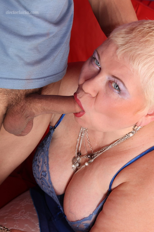 chubby free mature porn young chubby gives mama deepthroating treatment