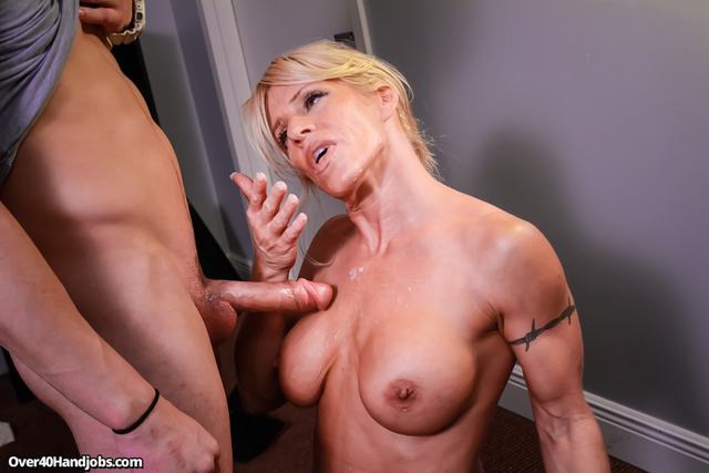 exclusive milf gallery pictures milf over busty gina stroking handjobs general