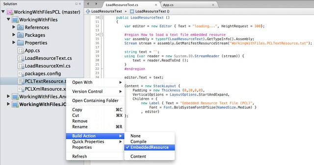 filename.txt cross working guides forms platform xamarin