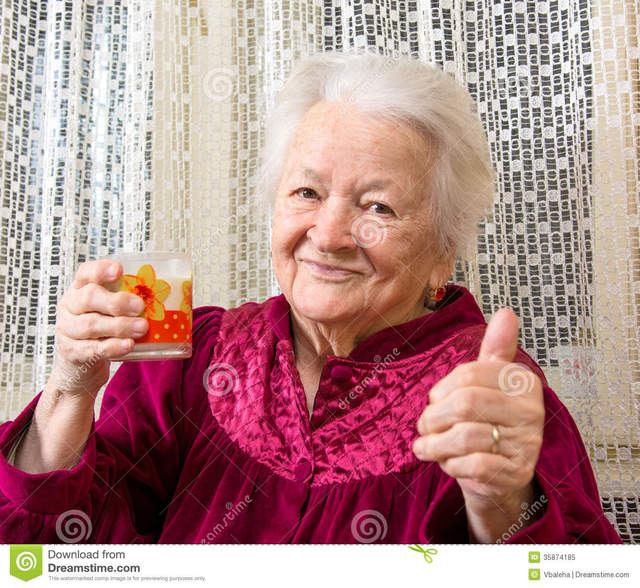 free picture old woman porn free woman old photo milk glass stock royalty holding healthy