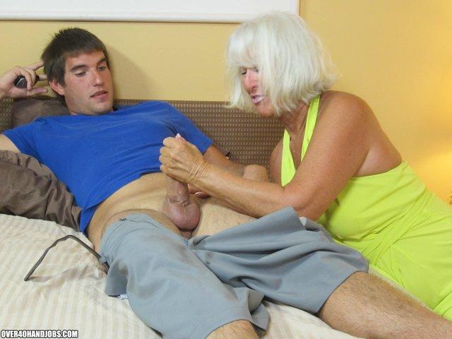 older women giving handjobs № 742587