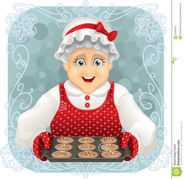 granny pics old photo granny cartoon happy grandma some stock funny cookies freshly compatible type holding vector illustration tray baked eps