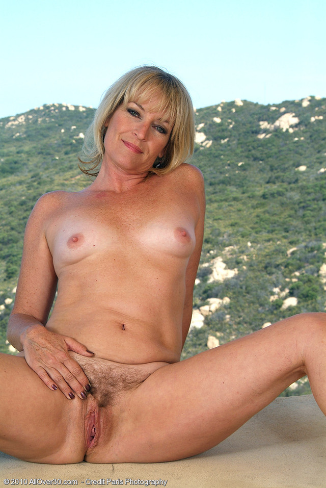 Mature hairy blonde nudes idea very