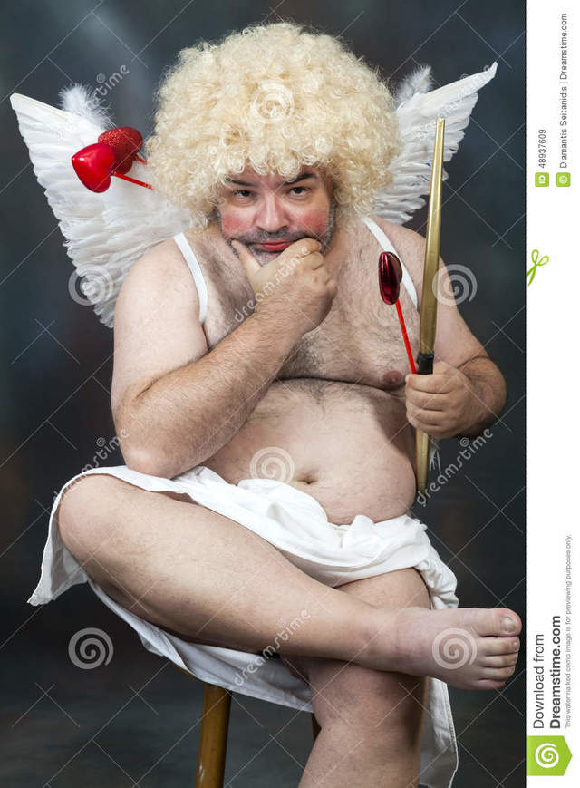 hairy mature pictures mature hairy photo fat stock heart cupid bearded bow arrow
