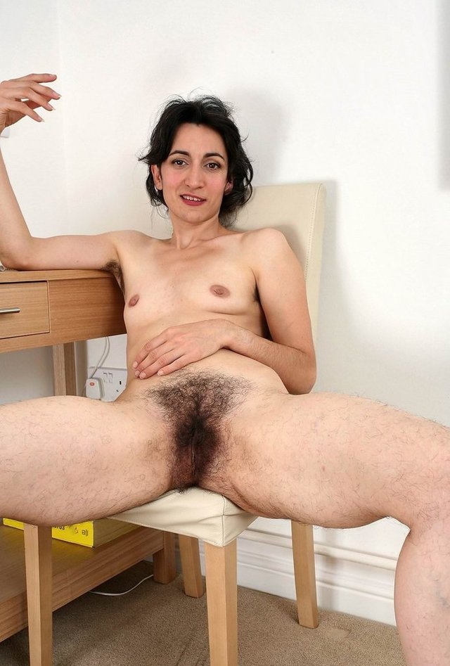 Naked girls with hairy bush